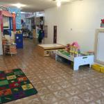 Preschool and school-age area.